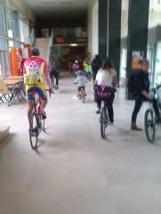 Vélotour Dijon 2013 - couloirs
